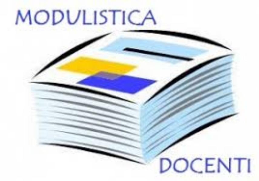 MODULISTICA DOCENTI